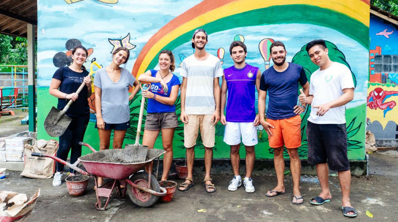 международное волонтерство за границей